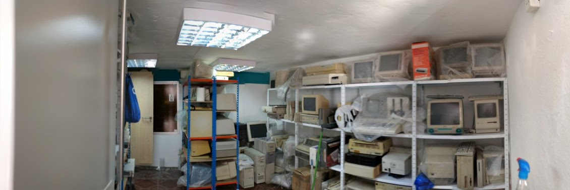 almacén de nuestra colección de retroinformática